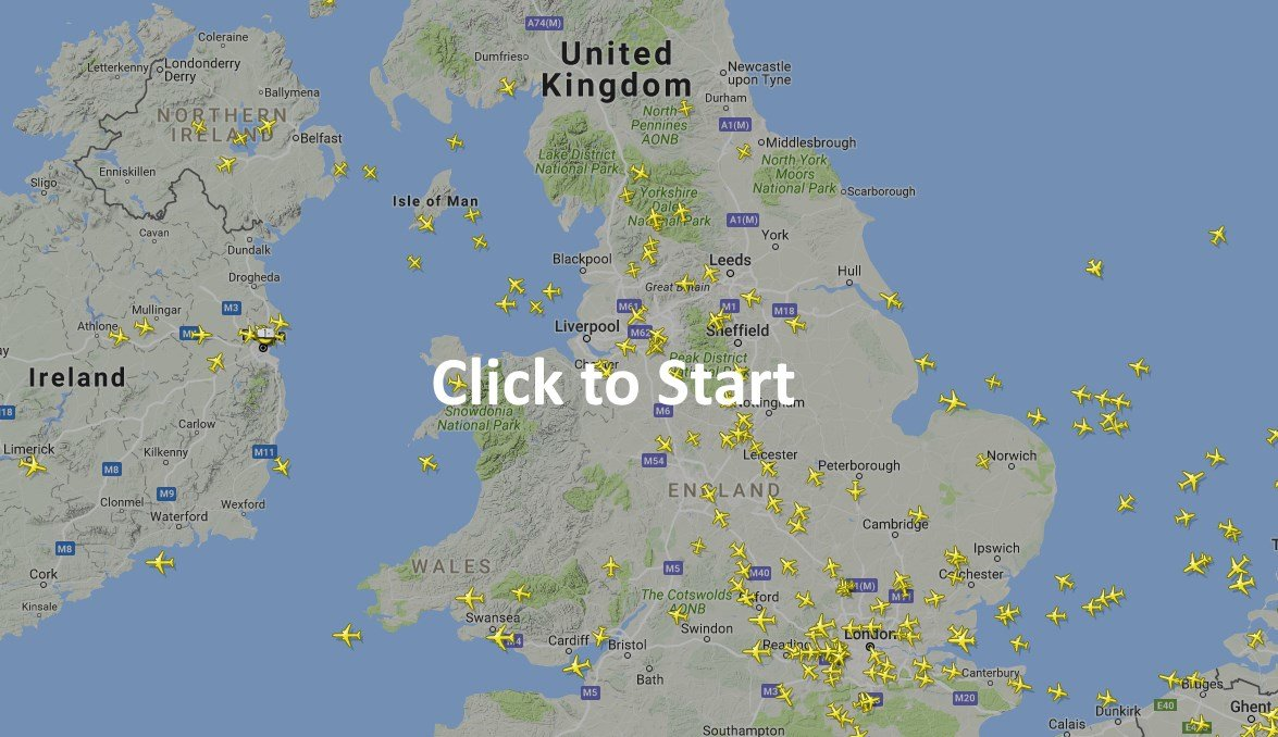 alternatively if you know the flight's location you can simply see whereit is on the map and click on it try it out for yourself with the freeplane . flight radar uk  free online plane finder  turn any device into